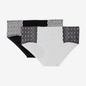 JESSICA SIMPSON Panties 2 pack 1X 2X 3 Full Figure